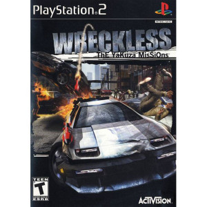 Wreckless The Yakuza Missions Video Game For Sony PS2