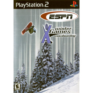 ESPN Winter X Games Snowboarding Video Game For Sony PS2