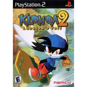 Klona 2 Lunatea's Veil Video Game For Sony PS2