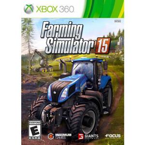 Farming Simulator 15 Video Game For Microsoft Xbox 360
