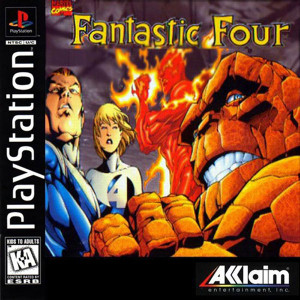 Fantastic Four Video Game For Sony PS1