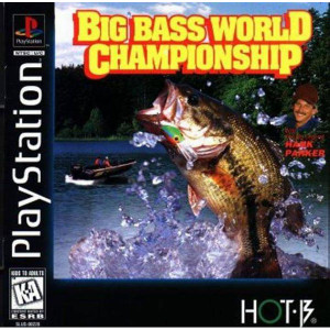 Big Bass World Championship Video Game For Sony PS1