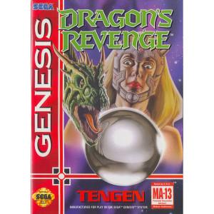 Dragon's Revenge Empty Box For Sega Genesis
