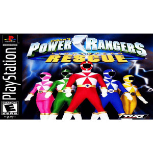 Power Rangers Lightspeed Rescue Video Game For Sony PS1