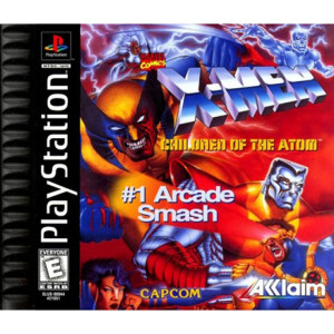 X-Men Children of the Atom Video Game For Sony PS1