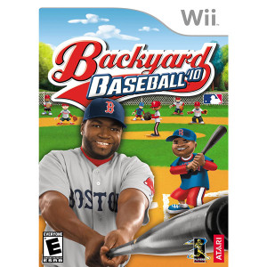 Backyard Baseball 10 Video Game For Nintendo Wii
