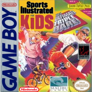 Sports Illustrated for Kids The Ultimate Dare! Video Game For Nintendo GameBoy
