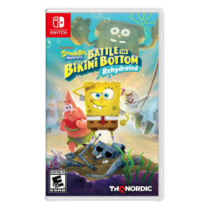 Spongebob Squarepants: Battle for Bikini Bottom Rehydrated Video Game for Nintendo Switch