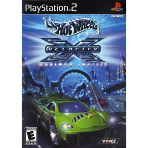 Hot Wheels Velocity X Maximum Justice Video Game For Sony PS2