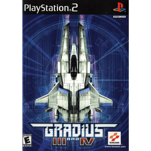 Gradius III and IV Video Game For Sony PS2