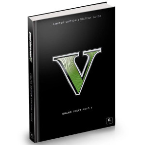Grand Theft Auto V Limited Edition Strategy Guide For Microsoft Xbox 360