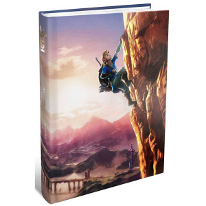 Legend of Zelda Breath of the Wild Complete Official Guide Collector's Edition For Nintendo Wii U and Nintendo Switch