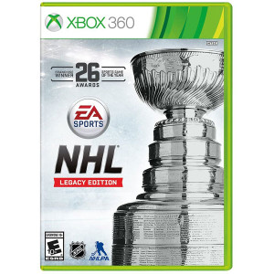 NHL Legacy Edition Video Game For Microsoft Xbox 360