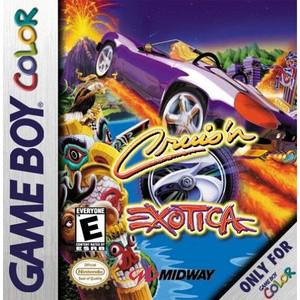 Cruis'n Exotica Video Game For Nintendo GBC
