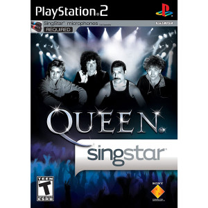 Singstar Queen Video Game For Sony PS2