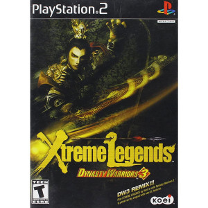 Dynasty Warriors 3 Extreme Legends Video Game For Sony PS2