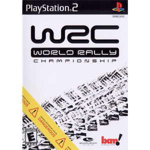 World Rally Championship Video Game For Sony PS2