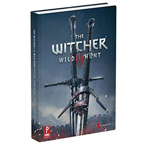 Witcher 3: Wild Hunt Official Collector's Edition Strategy Guide For Sony PS4 and Microsoft Xbox One