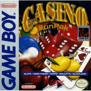 Casino Funpak Complete Game For Nintendo GameBoy