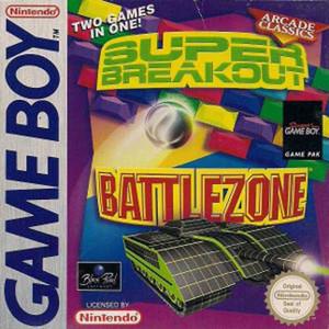 Super Breakout / Battlezone Complete Game For Nintendo GameBoy