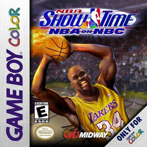 NBA Showtime NBA on NBC Complete Game For Nintendo GameBoy Color