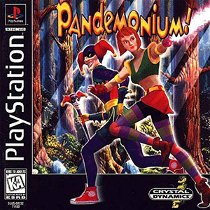 Pandemonium! Video Game For Sony PS1