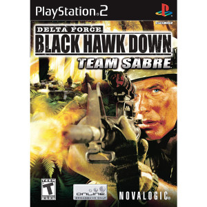 Delta Force Black Hawk Down Team Sabre Video Game For Sony PS1