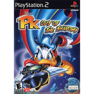 PK Out of the Shadows Video Game For Sony PS2