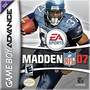 Madden 07 Complete Game For Nintendo GBA
