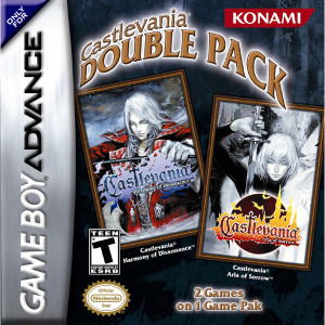 Castlevania Double Pack Complete Game For Nintendo GBA