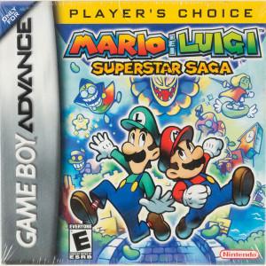 Mario & Luigi Superstar Saga Player's Choice Complete Game For Nintendo GBA