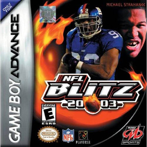 NFL Blitz 2003 Complete Game For Nintendo GBA