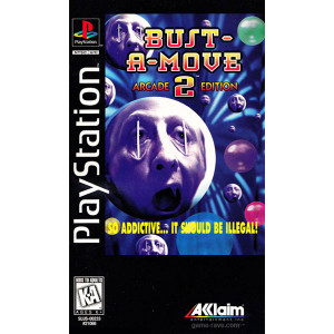 Bust A Move 2 Video Game For Sony PS1
