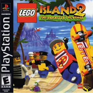 Lego Island 2 The Brickster's Revenge Video Game For Sony PS1