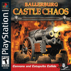 Battleburg Castle Chaos Video Game For Sony PS1
