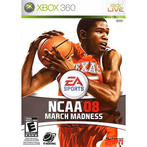 NCAA March Madness 08 Video Game For Microsoft Xbox 360