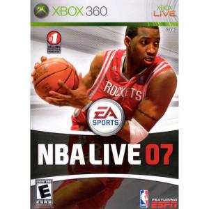 NBA Live 07 Video Game For Microsoft Xbox 360