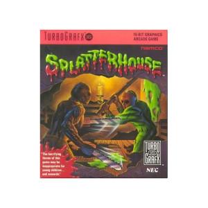 Splatterhouse NEC Home Electronics Turbo Grafx 16 Video Game For Sale | DKOldies
