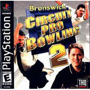 Brunzwick Circuit Pro Bowling 2 Video Game For Sony PS1