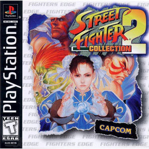 Street Fighter Collection 2 Video Game For Sony PS1