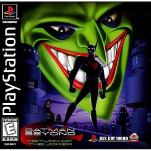 Batman Beyond Return of The Joker Video Game For Sony PS1