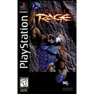 Primal Rage Video Game For Sony PS1