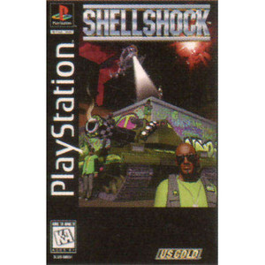 Shell Shock Video Game For Sony PS1