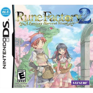 Rune Factory 2 Video Game For Nintendo DS