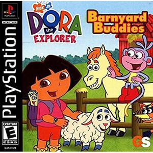 Dora the Explorer: Barnyard Buddies Video Game For Sony PS1