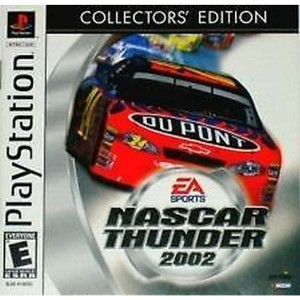 Nascar Thunder 2002 Collector's Edition Video Game For Sony PS1