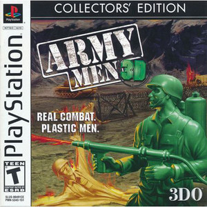 Army Men 3D Collector's Edition Video Game For Sony PS1