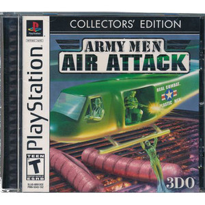 Army Men Air Attack Collector's Edition Video Game For Sony PS1