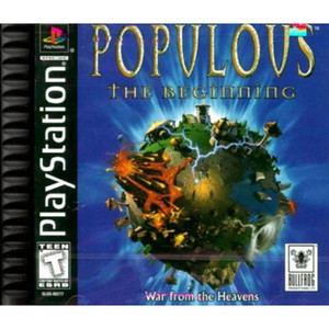 Populous The Beginning Video Game For Sony PS1