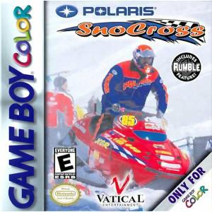 Polaris SnoCross Video Game For Nintendo GBC
